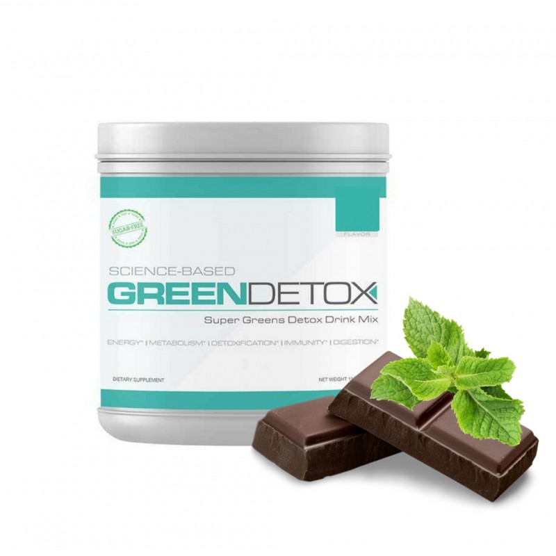 Green Detox Chocolate Menta